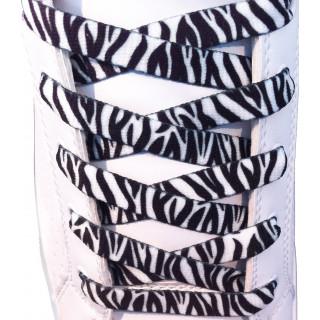 Cadarços zebra