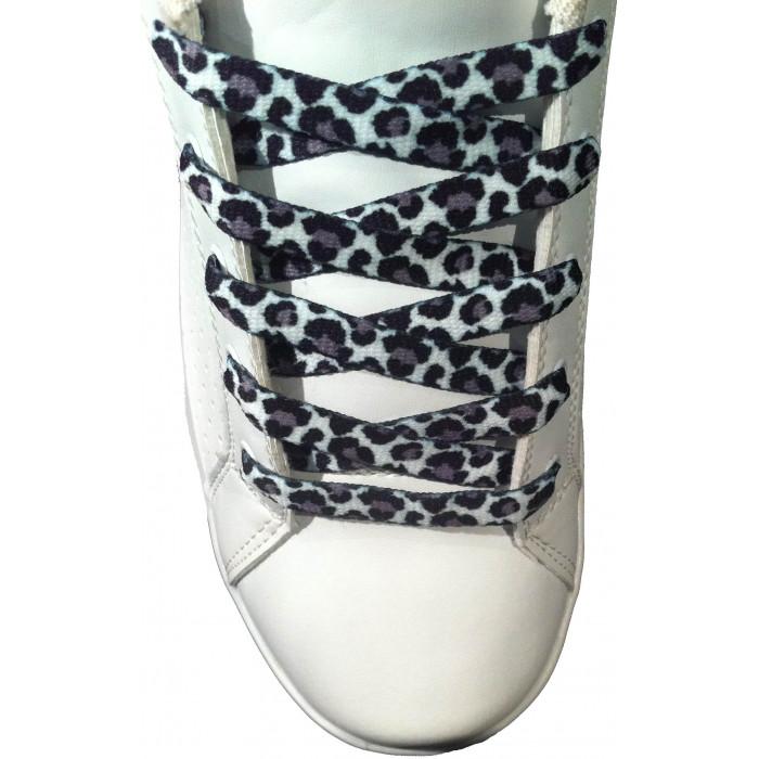 Cadarços de 10mm leopardo
