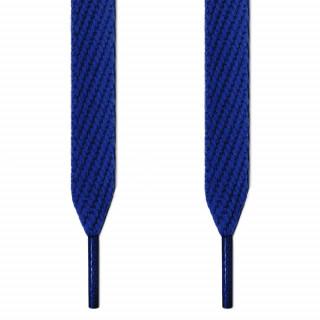 Cadarços azuis largos