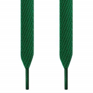 Cadarços largos verdes