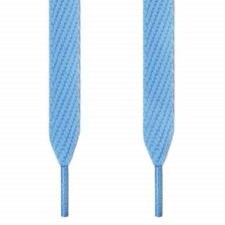Cadarços largos azul-claro