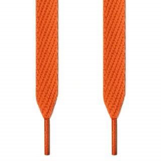 Cadarços largos laranja