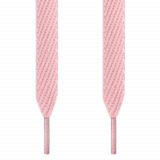 Cadarços largos rosa