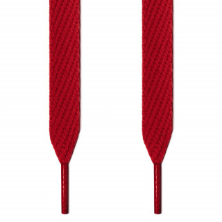 Cadarços vermelhos largos