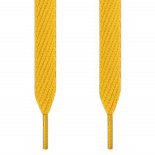 Cadarços largos amarelos
