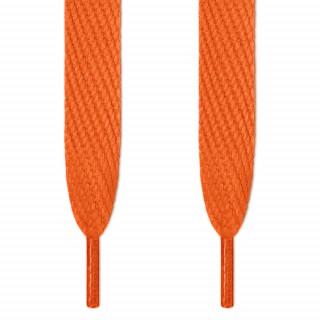 Cadarços super largos laranja