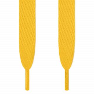 Cadarços super largos amarelos