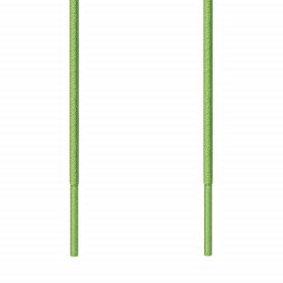 Cadarços finos redondos verde-lima