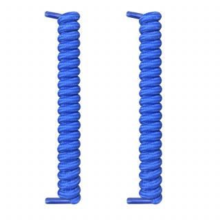 Cadarços azuis com espiral
