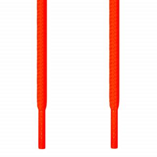 Cadarços redondos laranja neon