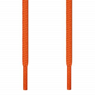 Cadarços redondos laranja