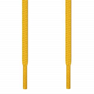Cadarços redondos amarelos