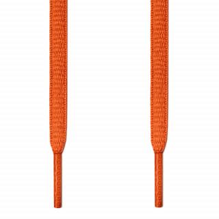 Cadarços ovais laranja