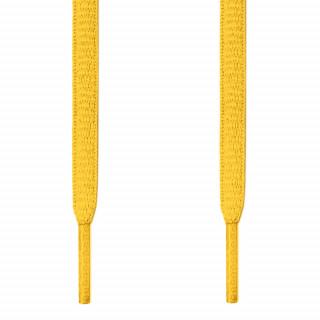 Cadarços ovais amarelos
