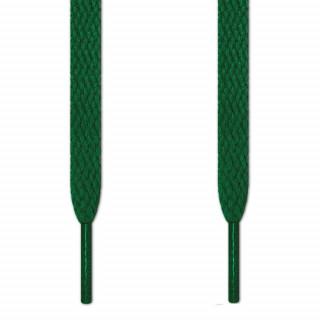 Cadarços chatos verdes