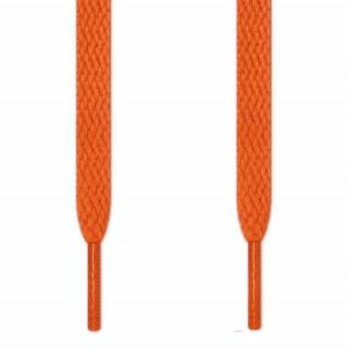 Cadarços chatos laranja