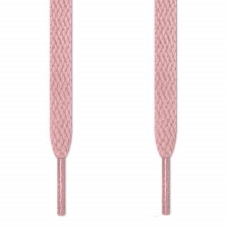 Cadarços chatos rosa